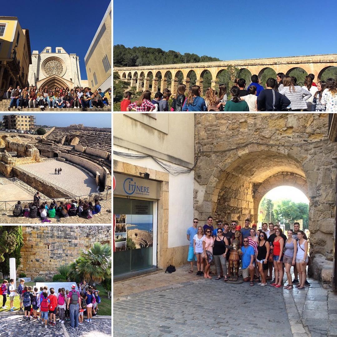 Itinere Didactica visita guiada tarragona escola institut catalunya